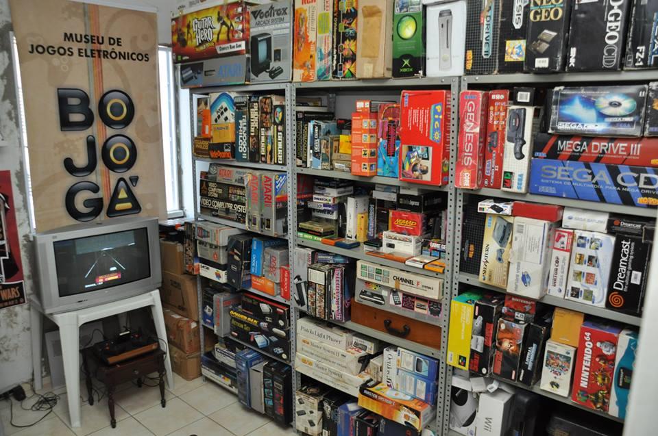 Matéria sobre o acervo Bojogá e a cultura dos jogos eletrônicos