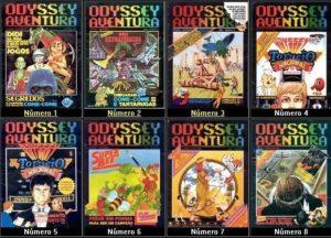 Revistas Odyssey Aventura.
