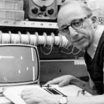 Ralph Baer testando os circuitos do Odyssey.