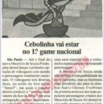 Matéria sobre os jogos da Turma da Mônica.