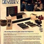 Anúncio do Odyssey em revista.