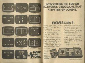 Anúncio do Studio II.