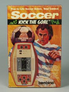 Caixa do Soccer da Bambino.