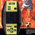 Primeiro modelo do Bambino Soccer.