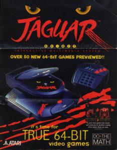 Anúncio do Jaguar CD.
