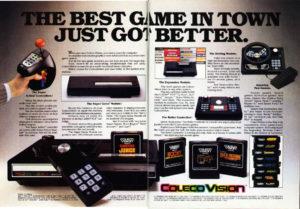 Propaganda do ColecoVision.