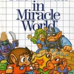 Capa japonesa de Alex Kidd in Miracle World.