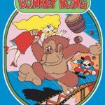 Flyer do Arcade Donkey Kong.