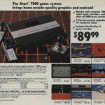 Divulgação do Atari 7800.