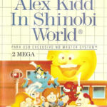 Alex Kidd in Shinobi World.
