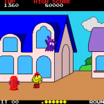 Tela do jogo Pac Land.