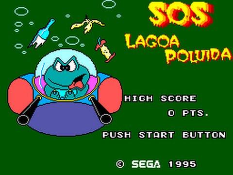 Sapo Xulé  S.O.S. Lagoa Poluida (TecToy, 1995) – Bojogá ef1470b11f